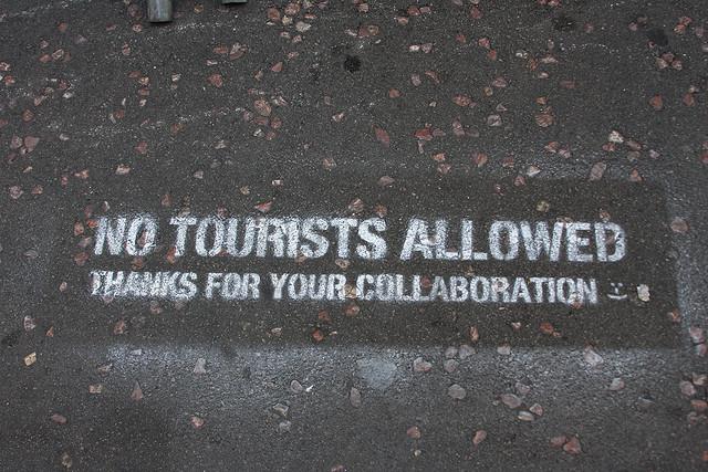 No tourists allowed [Jennifer Woodard via Flickr]