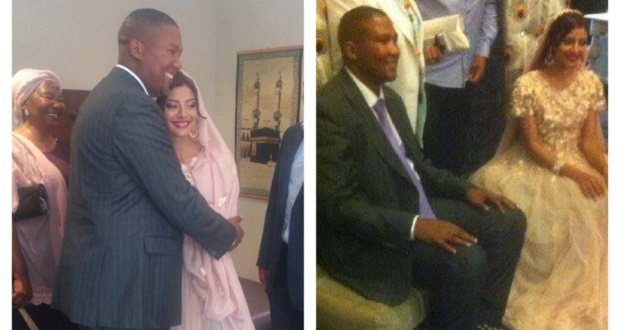 Mandla Mandela is a Muslim, with a new bride, and it's