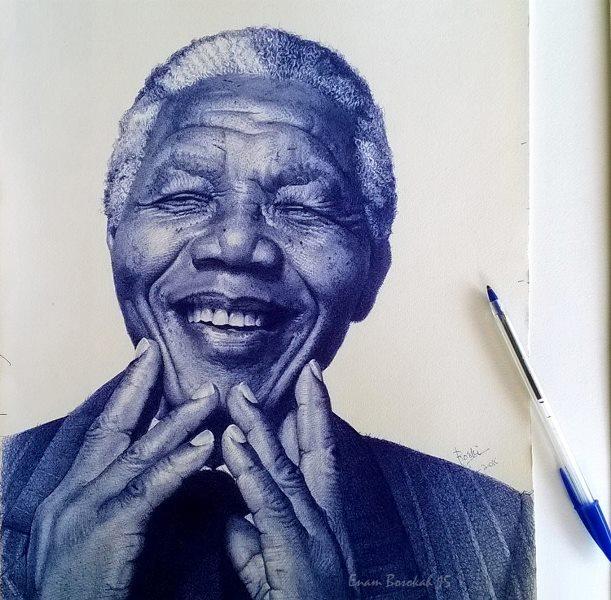 Nelson Mandela ballpoint