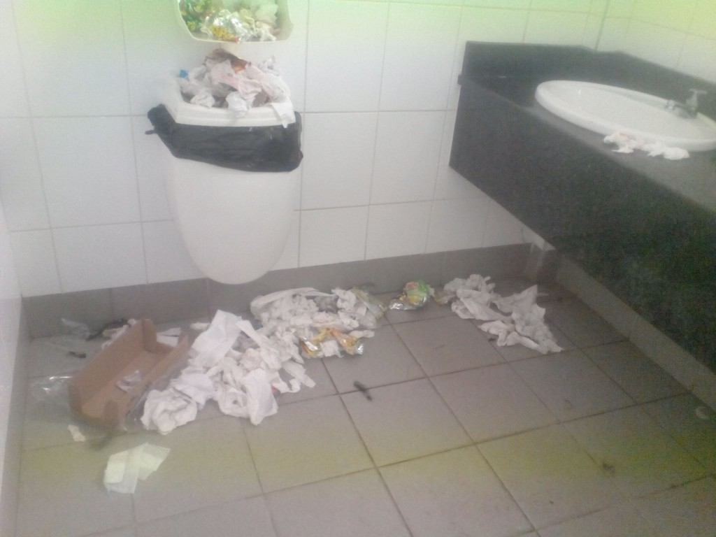 UKZN protest rubbish 2