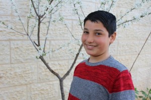 """""""I have two heroes. My two older brothers, who are both in Israeli prison, who didn't go to trial or being charged. Anyway, I miss them."""" Ahmad, 10"""
