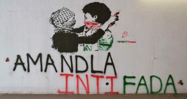 Project Hoopoe amandla intifada