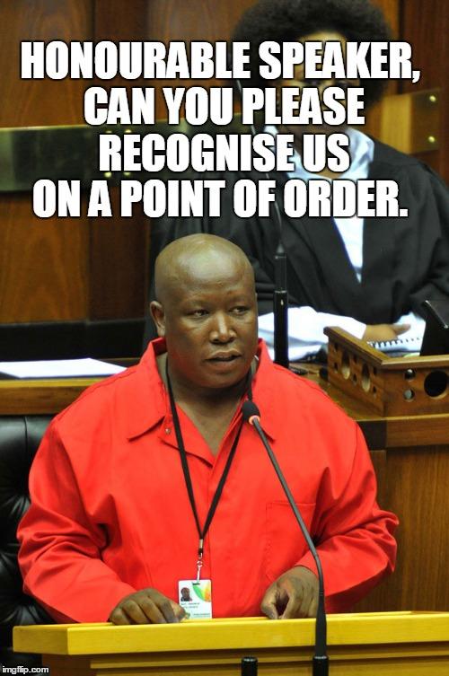 Julus, Honourable speaker