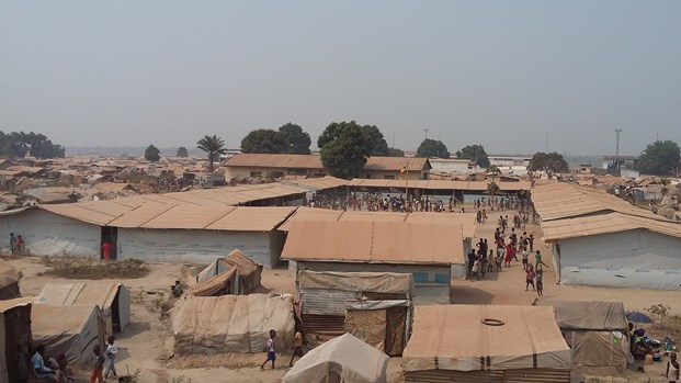 Mkopo refugee camp,Bangui, CAR