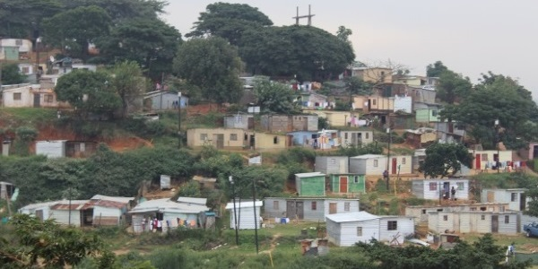 Shacks in durban