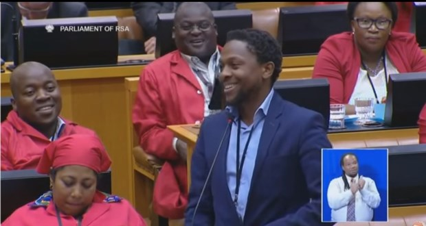 Mbuyiseni Ndlozi parliament