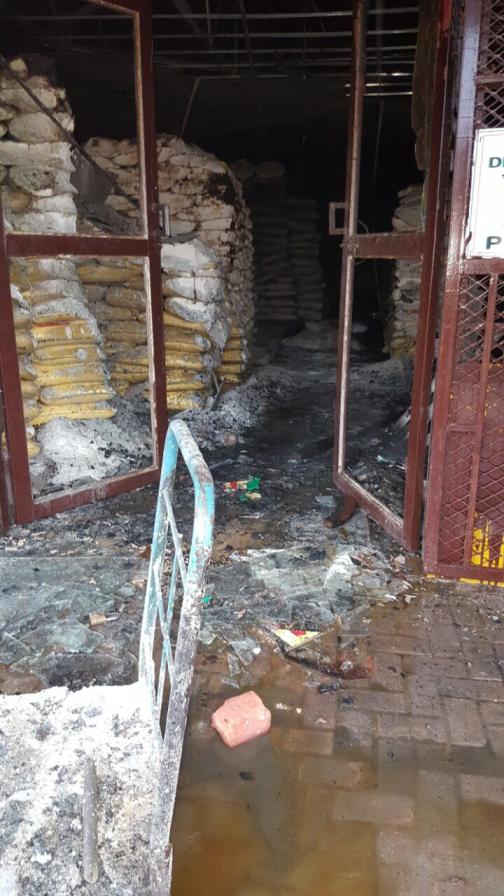 Giyani 1 looted shop Asif Talati