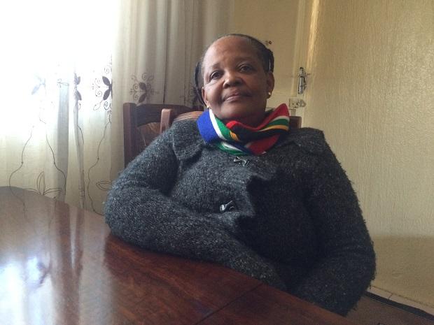 Busiswe Shabangu at her home in Soweto