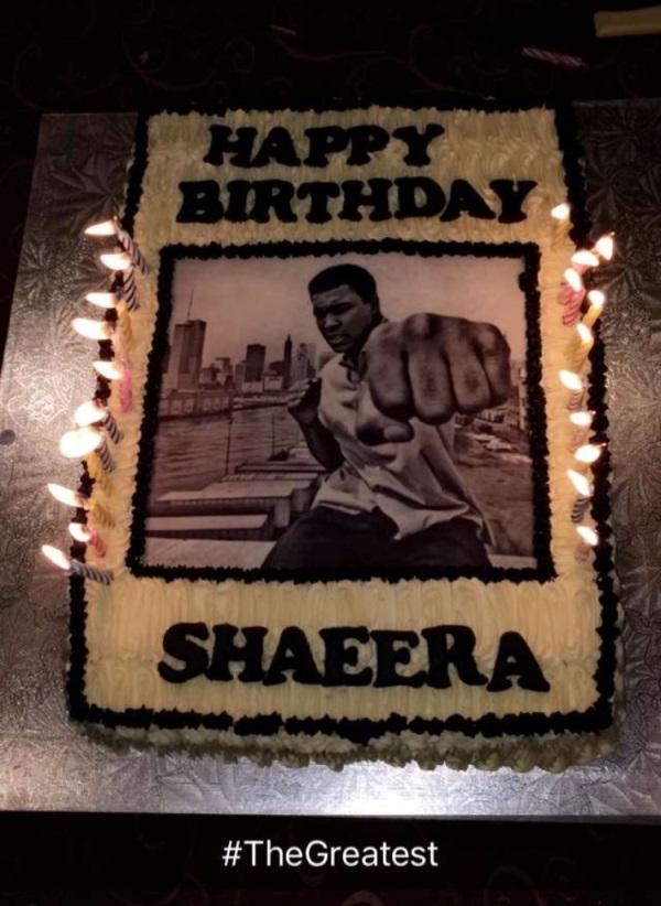 Shaeera's bday cake