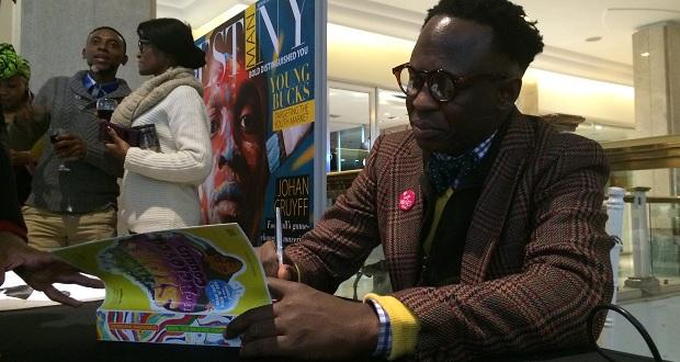 bongani madondo book signing