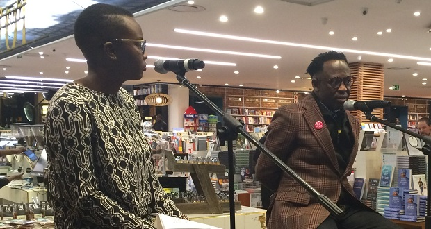bongani madondo book launch