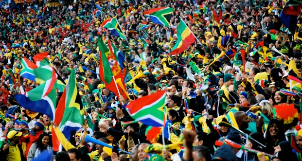 south african sports flags stadium