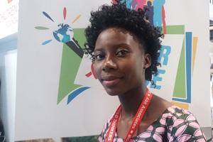 Beatrice Phiri, 18,volunteer, Zambia