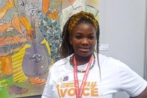 Nosizwe Dumo, 23, NGO worker, Cape Town