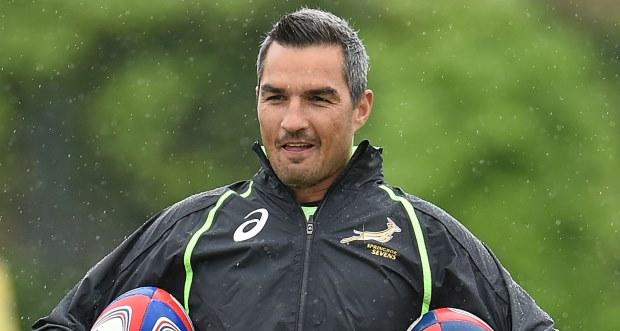 Neil Powell SA Rugby Sevens Blitzboks coach