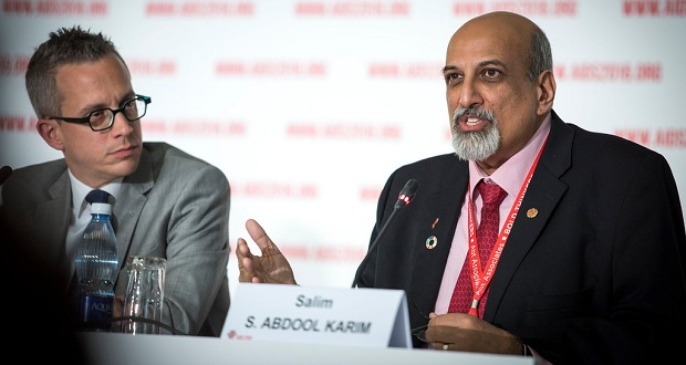 Professor Salim Abdool Karim, 21st International AIDS Conference