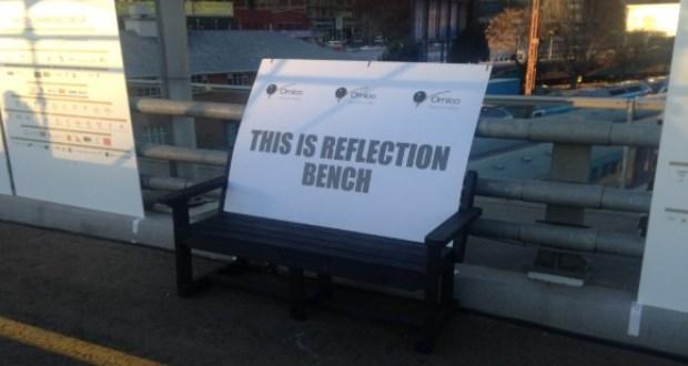 reflection bench