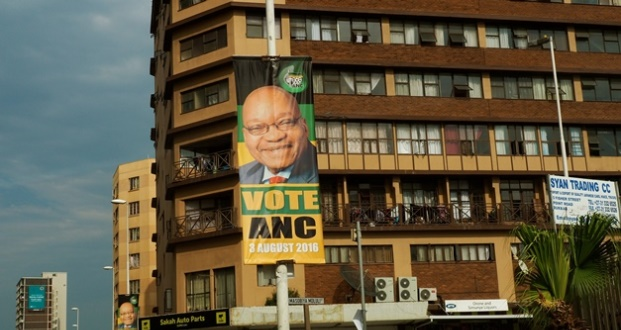 ANC election poster Zuma