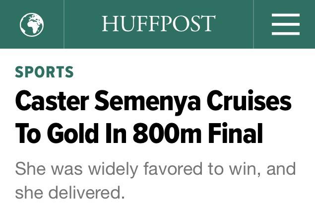 Caster headline huffpost
