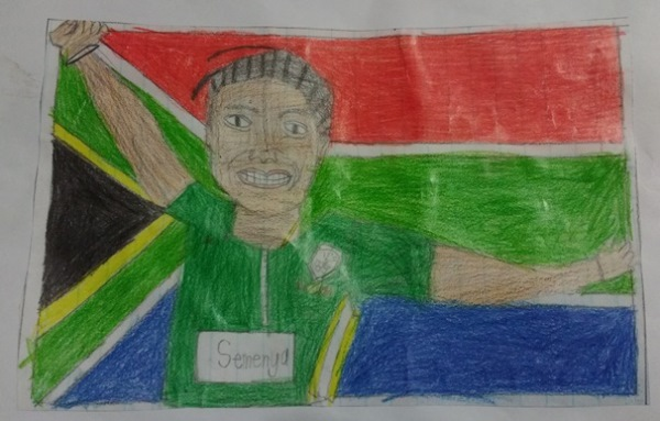 Drawing by Teboho
