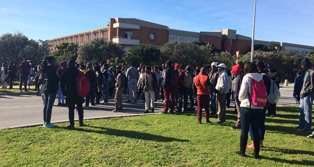 NMMU students join the call for free education