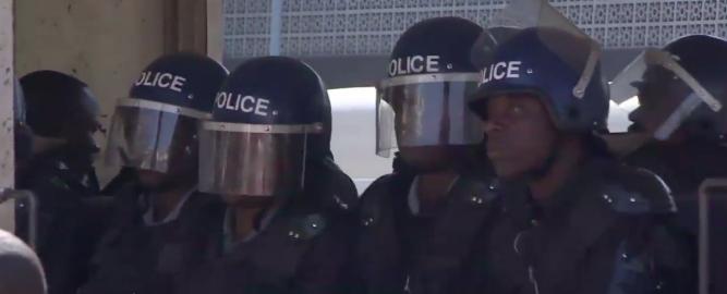 zim riot police