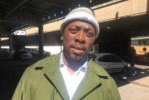 Thulani Bhengu, 38, Bergville, official at Park Station