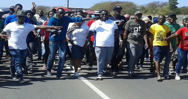Students at the University of Limpopo are demanding safety