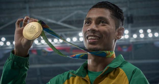 Wayde Van Niekerk Rio Olympics 2016 gold medal [slider]