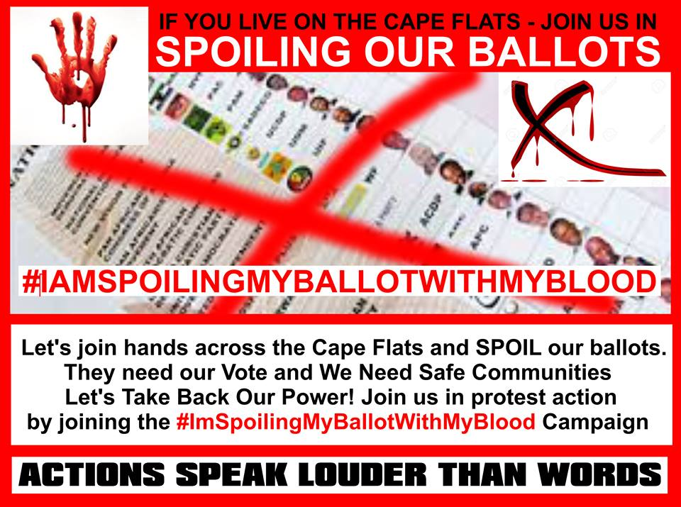 spoil your ballot with blood