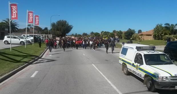 NMMU protest 21 September 2016