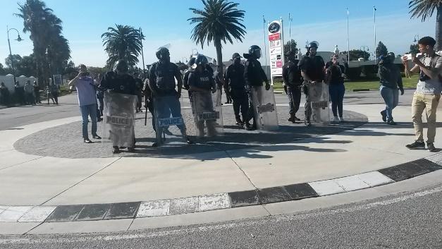 NMMU protest 21 September 2016 3