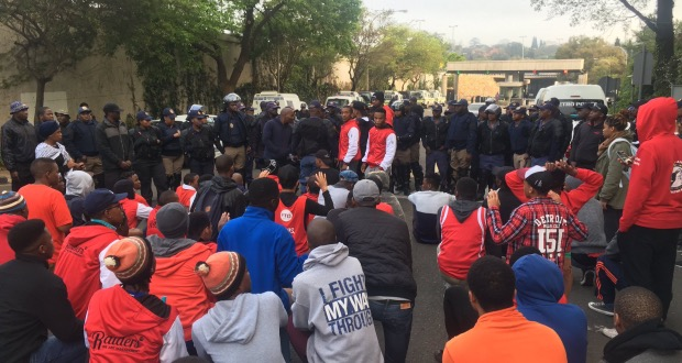 Wits protesters arrested