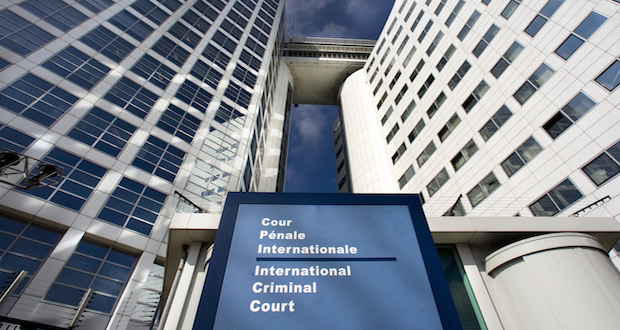 exterior of Eurojust and the International Criminal Court (ICC) in The Hague
