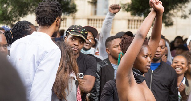 wits feesmustfallprotest bare women 4 October 2016 [slider]