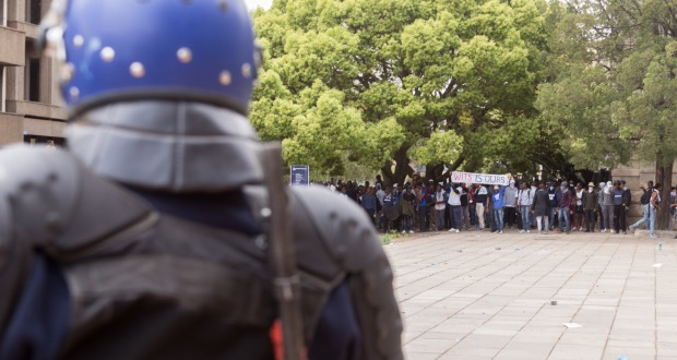 Wits students by yeshiel