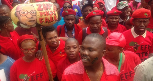 EFF March to CBD, 02/11/2016