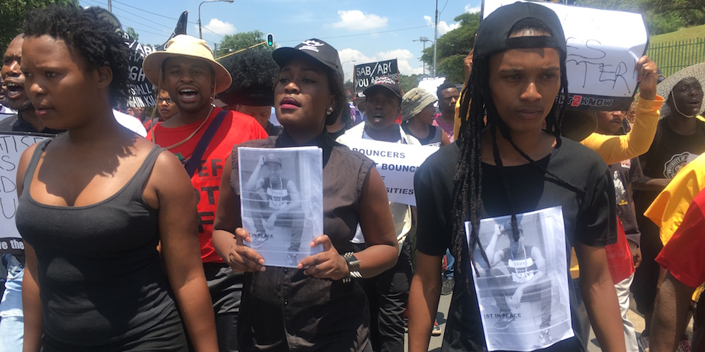 Justice for Kelvin UJ March_2