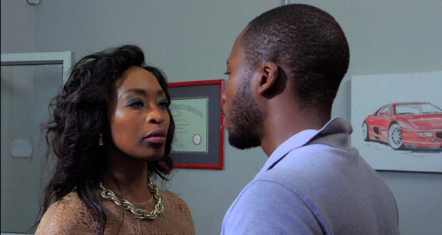 Uzalo, Nokuthula refuses to see reason as Mxolisi pleads with her to leave him alone.