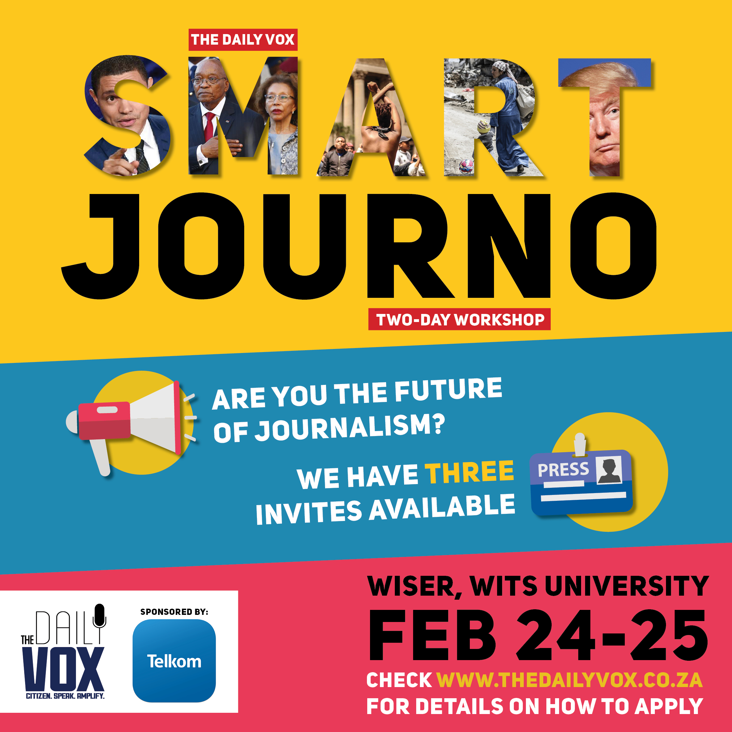 Win an invitation to our Smart Journalism Workshop
