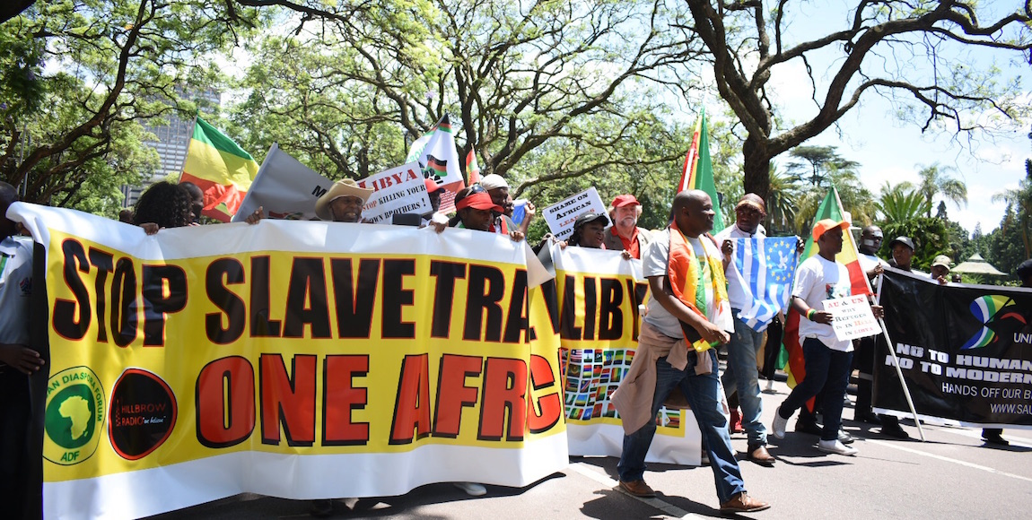 South Africans failed to show up for the #LibyanSlaveTrade march