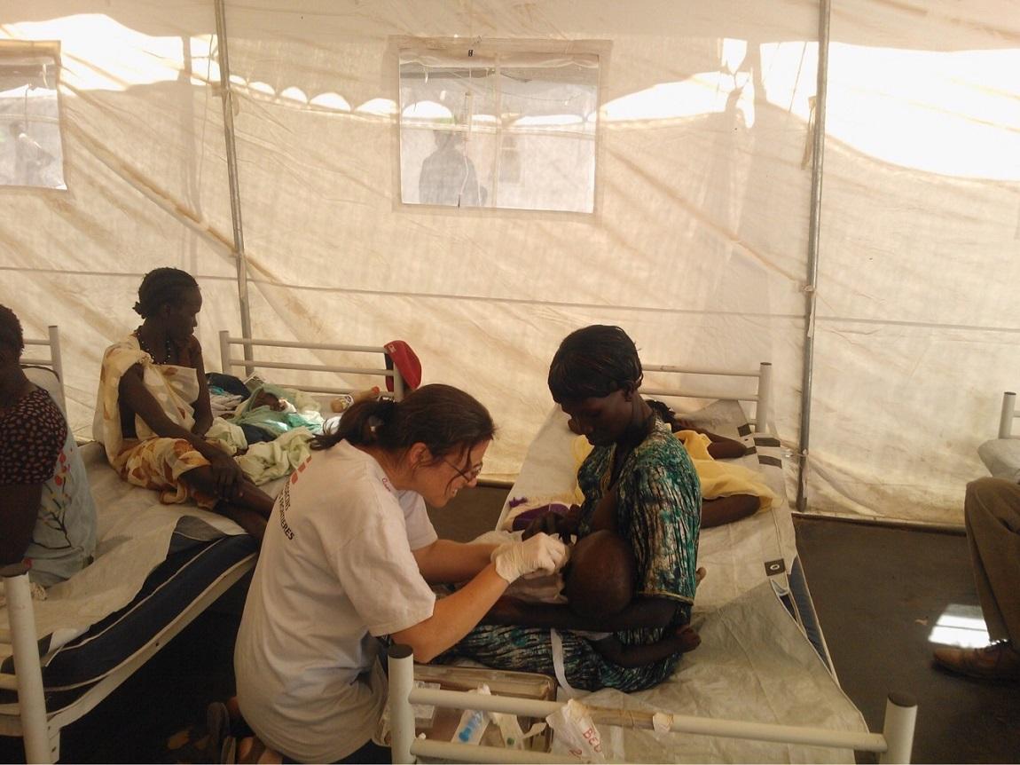 Ann Cilliers MSF nurse