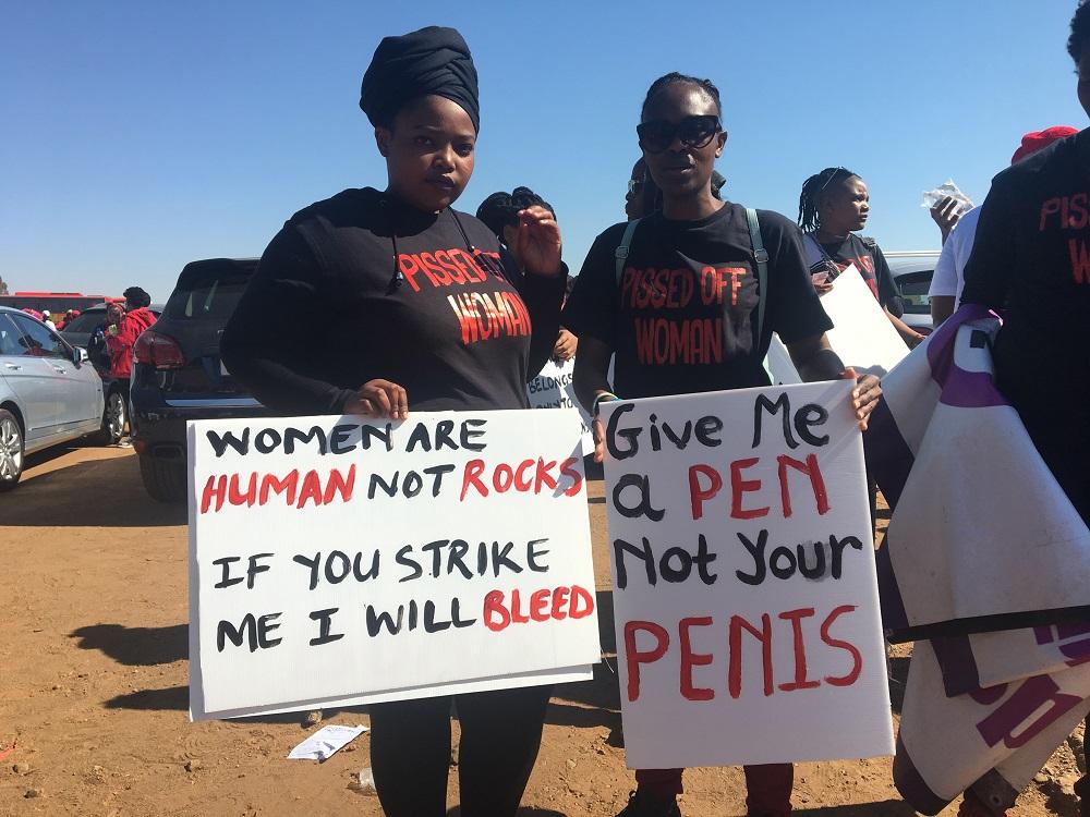 total shutdown gender-base violence