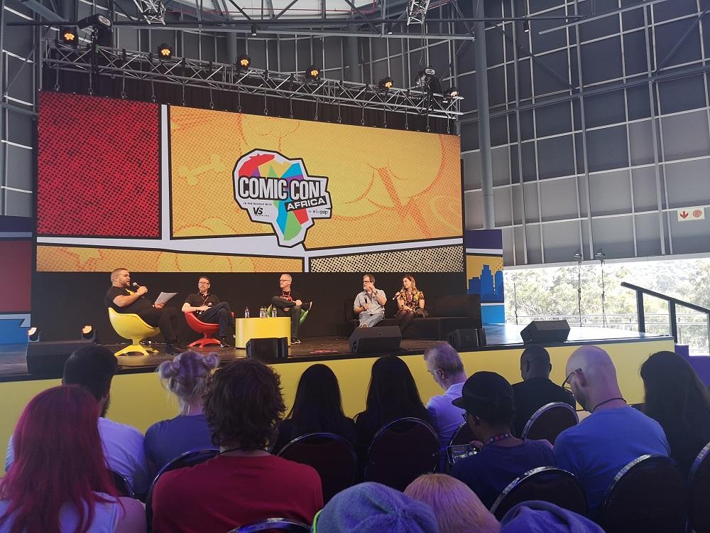 Panel Discussion on Comic Books, Comic Con 2018