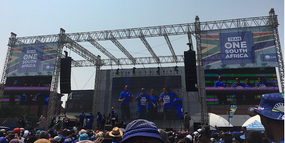 Sipho's Political Newsletter 23022019: The DA Needs The EFF To Win Gauteng