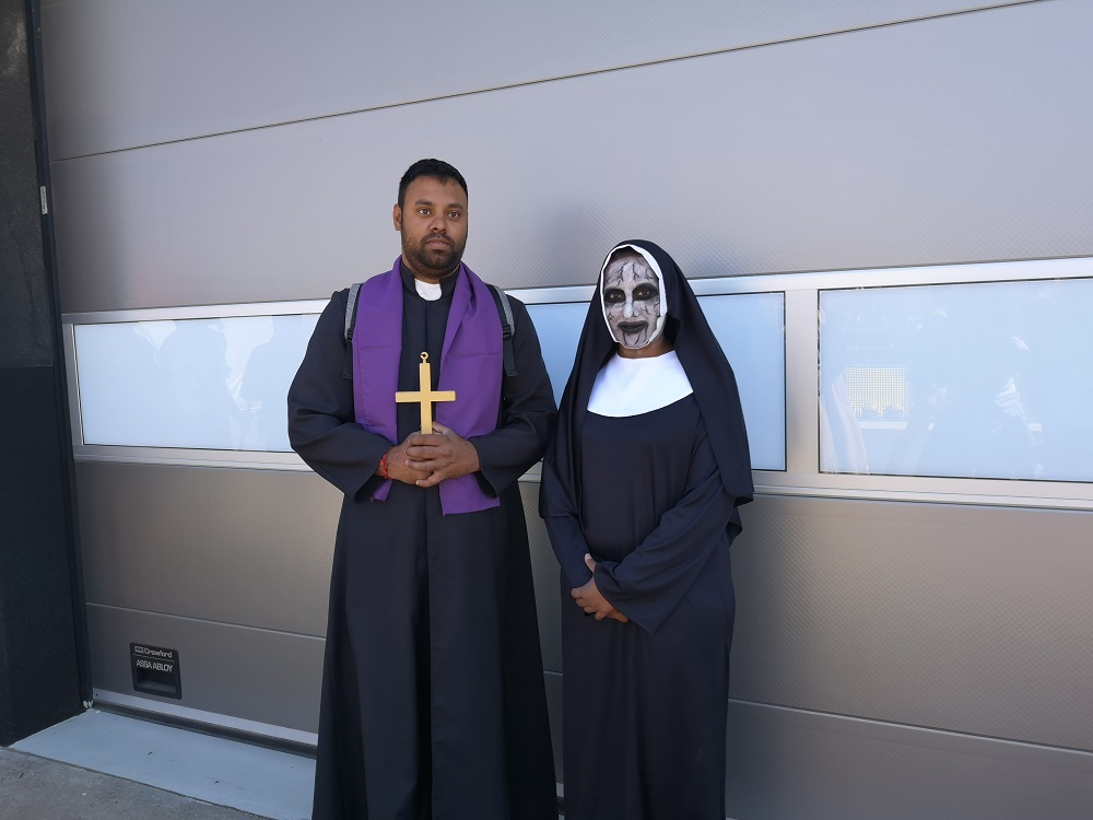 The Nun and the Priest Comic Con Africa