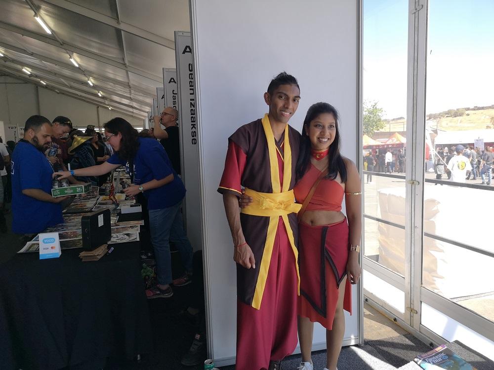 Zuko and Katara Comic Con 2018