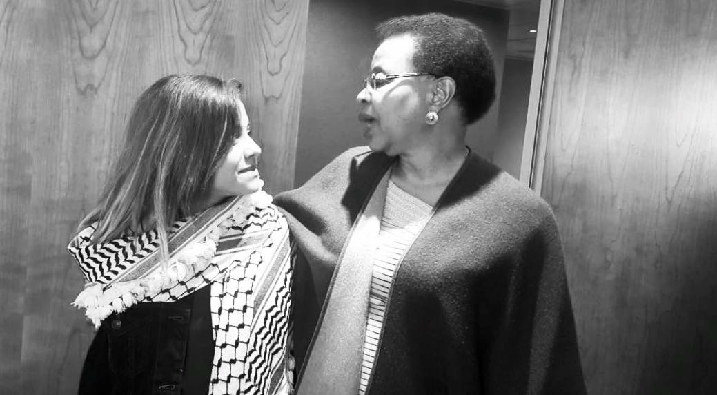 Janna Jihad and Grace Machel