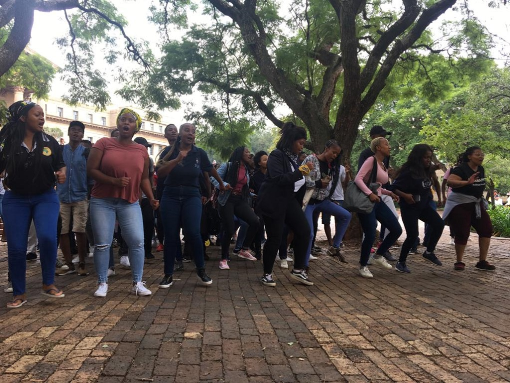 Wits Hunger Strike protest